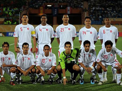 Footballers Direct - can Tahiti win?